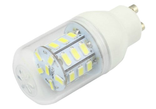 Gu10 6 Watt Led Bulb Omnibearing 360 Degree Bright Lighting Lamp Cool White 5000K