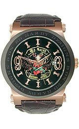 Ed Hardy Men's AD-RG Admiral Rose Gold Watch