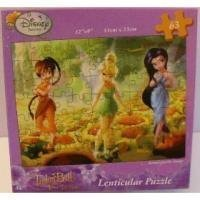 Disney Fairies TinkerBell and The Lost Treasure Lenticular 63 Piece Puzzle - 1