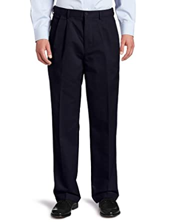 98c9c51a42a8ba Dockers Men's Comfort Khaki D4 Relaxed Fit Pleated-Cuffed Pant