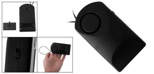 Blk 120Db Wireless Window Door Security Sensor Alarm 9V