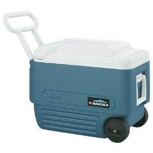 Igloo MaxCold 40 Roller Cooler Chiller Cool Box for camping , gigs and events. cooler