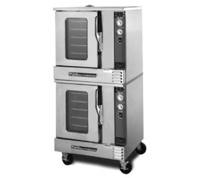 Southbend Eh-20Cch Double Half Size Electric Convection Oven, 208V/3Ph, Each
