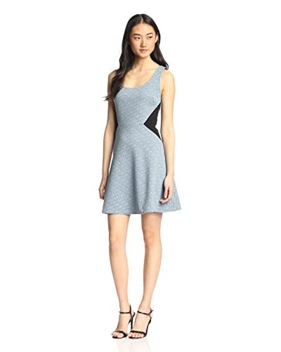 4.collective Women's Digital Crosshatch Dress