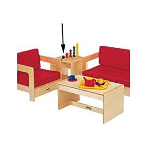 Jonti Craft Kid Sized End Table for Active Play from Jonti-Craft