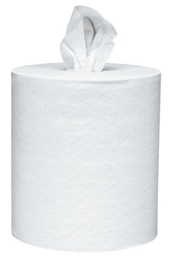"Scott Roll Control Center Pull Paper Towels (01032) White, 8.0"" Width x 12.0""Length (Case of 6, 700 Sheets per Roll)"