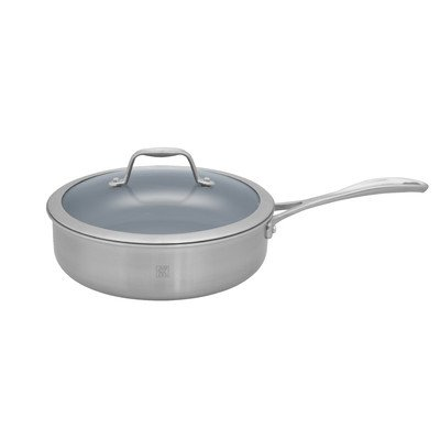 Spirit Nonstick 3-qt. Saute Pan with Lid
