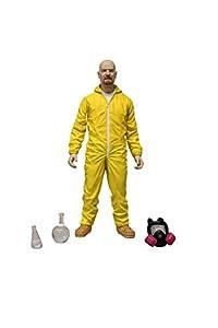 Star Images 6-Inch Breaking Bad Walter White Hazmat Suit Figure (Yellow)