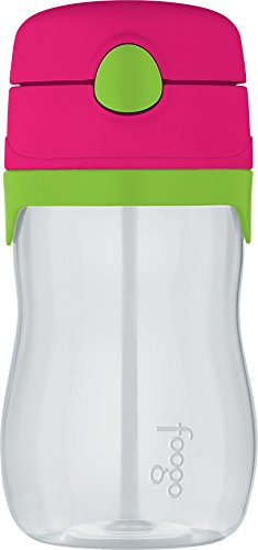 THERMOS-FOOGO-11-Ounce-Straw-Bottle-WatermelonGreen