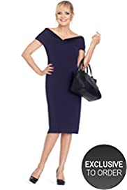 Twiggy for M&S Woman V-Neck Knot Dress