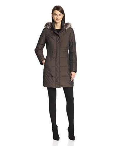 Anne Klein Women's Mid-Length Down Coat