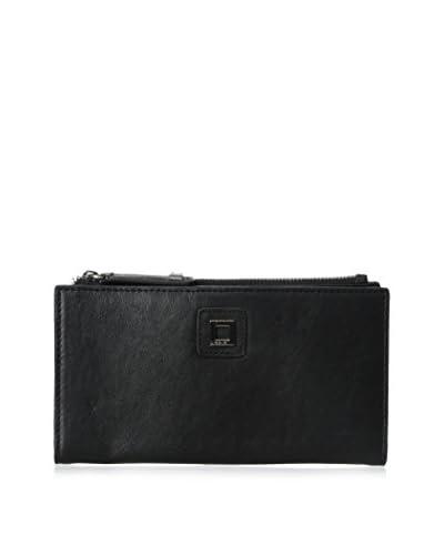 LODIS Women's Vanessa Pebble Tess Wallet, Black