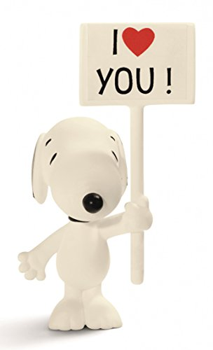 Schleich 2522006 I Love You! Snoopy Figurina