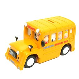 Buy Snoopy Coin Bank (School Bus)