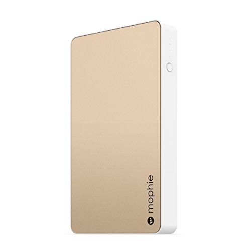 日本正規品・1年保証mophie powerstation (急速充電対応 6,000mAh モバイルバッテリー) ゴールド MOP-BY-000128