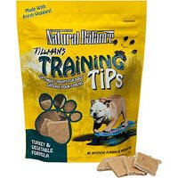 Natural Balance Tillman's Training Tips Turkey & Vegetable Formula Dog Treats 6-oz bag