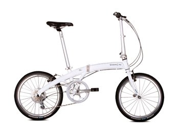 Dahon Mu P8 Folding Bike (20-Inch Wheel, Obsidian)