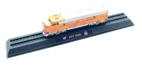 FP7 Union Pacific - 1949 diecast 1:160 scale locomotive model (Amercom LN-42) - 1