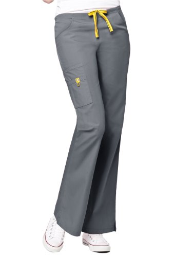 Wink 'The Romeo' Scrub Bottoms Pewter Large Tall front-953374