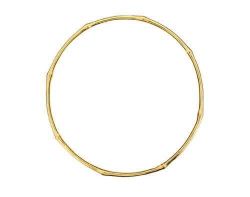 Dinny Hall 18ct Gold Plated Silver Bamboo Bangle