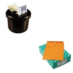 KITLEE40100QUA37797 - Value Kit - Quality Park Clasp Envelope (QUA37797) and Lee Ultimate Stamp Dispenser (LEE40100)