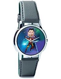 BigOwl Man Of Iron Analog Men's Wrist Watch 3681196126-RS1-W-GRY