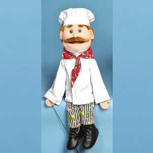 Sunny Toys GS4305 28 In. Dad Chef, Full Body Puppet (Puppet Chef compare prices)