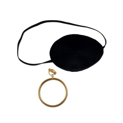 Amazoncom: black pirate eye patch