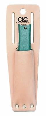 Custom Leathercraft 453 Utility Knife Sheath, Top Grain Leather