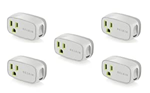 Belkin Power Conserve Switch F7c016q 5 Pack - Bulk Packaging by Belkin Components