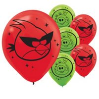Angry Birds 'Space' Latex Balloons (6ct)