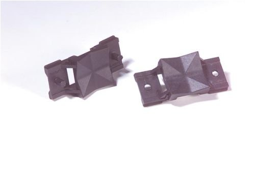 2642. Kennflex Universaladapter aus Polyamid selbstzentrierend, mit Nietdorn