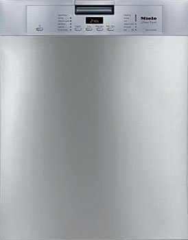 Miele Futura Crystal Series G5105SC Full Console Dishwasher