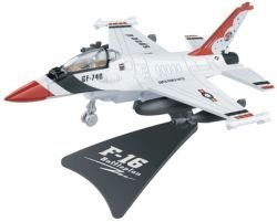 F-16 1:80 Scale Die Cast Airplane
