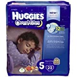 Huggies Diapers, 5 (Over 27 lb), Disney Baby, Jumbo, 23 ct (Pack of 4)