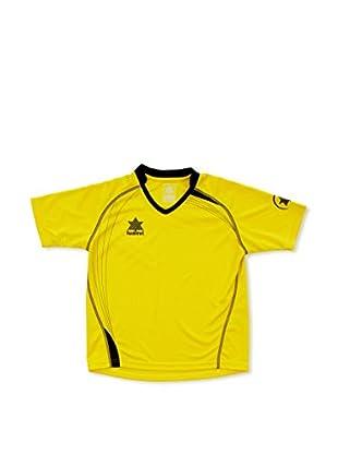 Luanvi Camiseta Manga Corta Master (Amarillo / Negro)