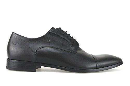 scarpe uomo FABI 45 EU classiche nero pelle AK915-B