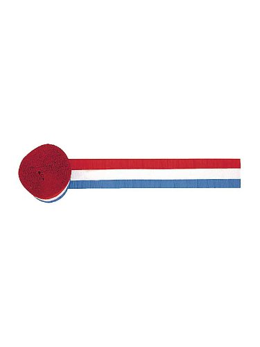 Red White and Blue Streamer 42ft - 1