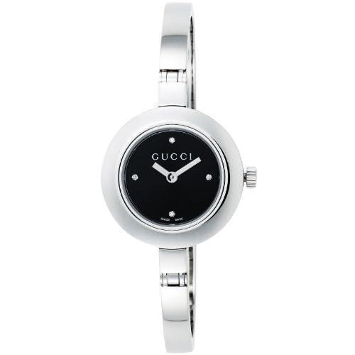 [グッチ]GUCCI 腕時計 Gサークル ブラック文字盤 ダイヤモンド YA105547 レディース 【並行輸入品】