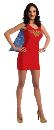 DC Comics Wonder Woman Tank Dress Adult Costume - Small, Medium or Large