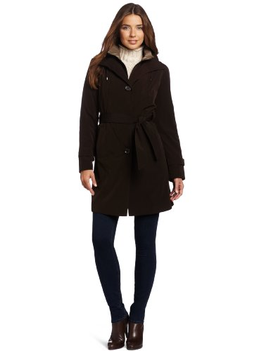 London Fog Women's Kara Rain Coat