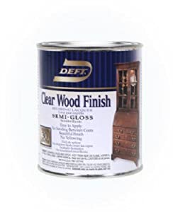 Deft Semi Gloss Clear Wood Finish Household Wood Stains