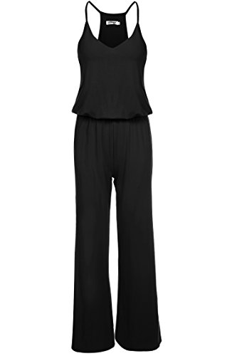 meaneor damen tr ger jumpsuits v ausschnitt overall weite. Black Bedroom Furniture Sets. Home Design Ideas