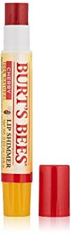 Burt's Bees Lip Shimmer, Cherry, 0.09…