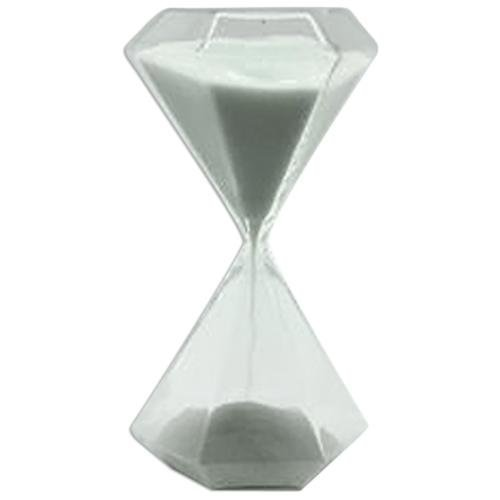 10 Minute Glass Timer with White Sand - 6 by G.W. Schleidt (Gw Schleidt Timer compare prices)