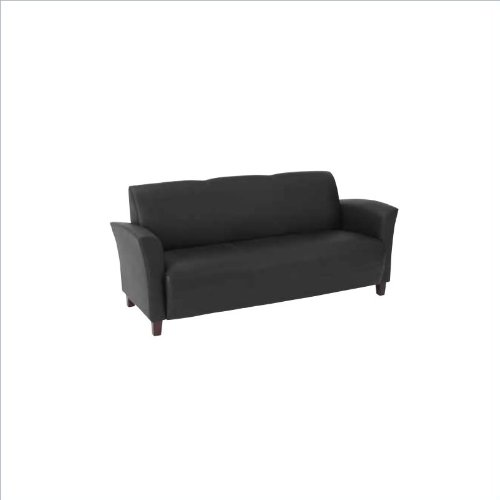Outstanding Eco Leather Sofa Black Huge Discount Congkhiem21512 Beatyapartments Chair Design Images Beatyapartmentscom