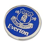 100% OFFICIAL EVERTON FC GOLF BALL MARKER TOFFEES
