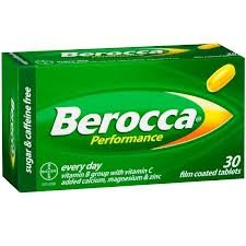 Berocca Performance 30 Tablets. [Get Free Herbal Lozenges]