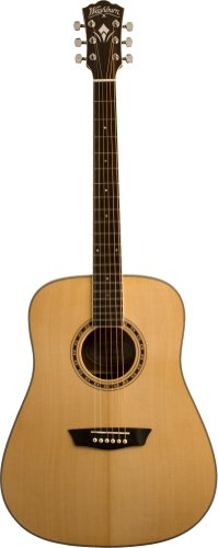 Washburn WD10S Left Handed Dreadnought Acoustic Guitar