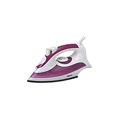 Jaipan JP-9015 1200-Watts Trinity Electric Steam Iron (White & Purple)